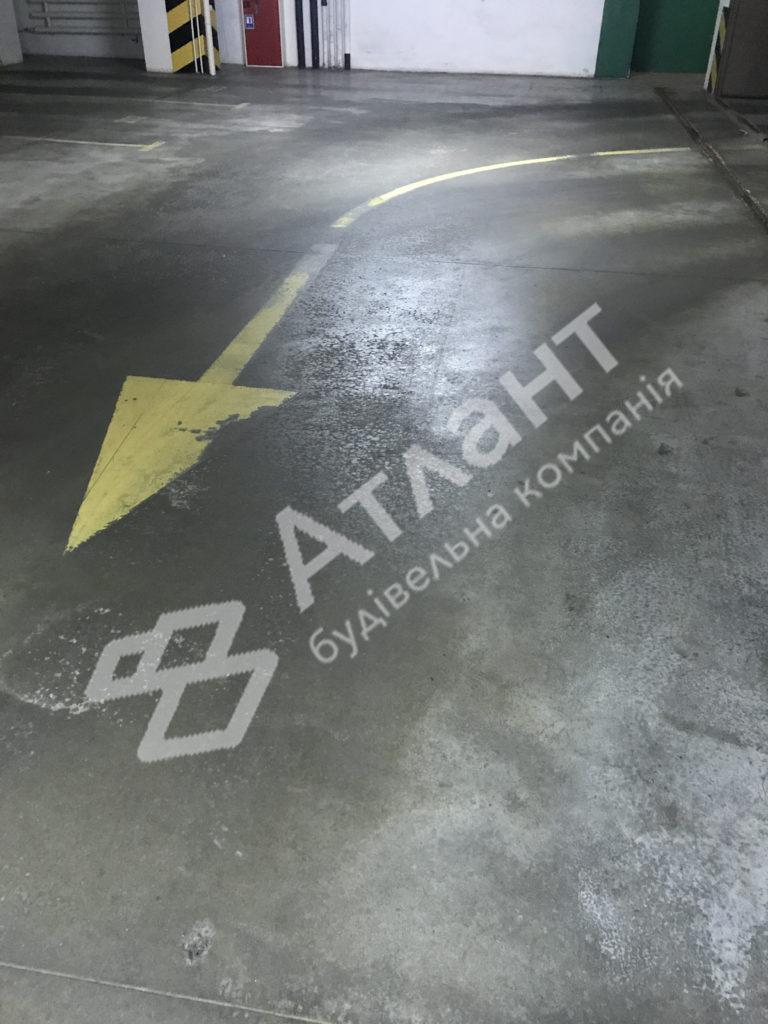 Полированный бетон до