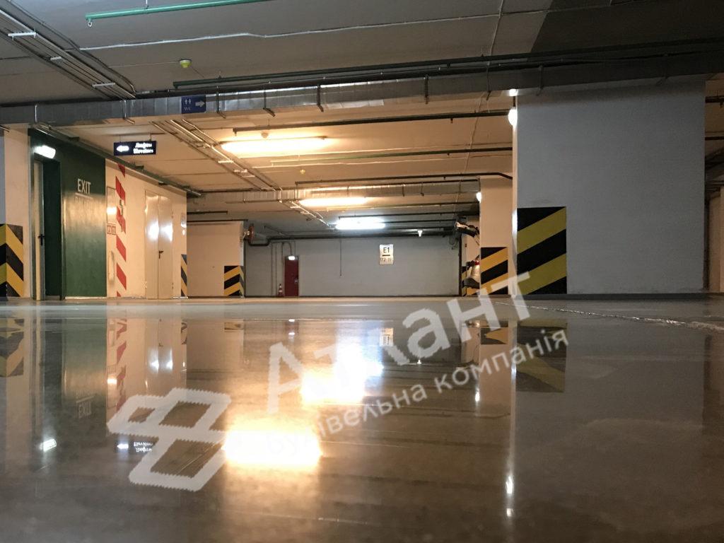 Полированный бетон